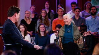 College Tour met Jane Goodall