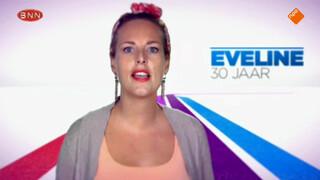 Eveline bereidt haar eindshow voor