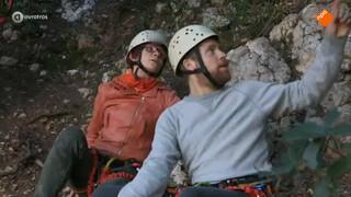 Bergbeklimmen met hoogtevrees
