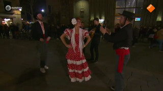 Helma gaat Flamenco dansen