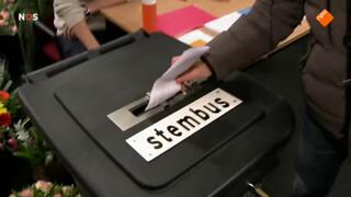 Stembureaus geopend