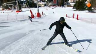 Jan vs. Jan achteruit skiën