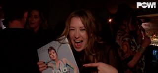 Pownews - Lola Brood Met Blote Pantoffel In De Playboy