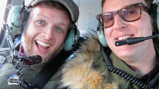 Dave & Arjan vlog: Helikoptervlucht