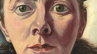 Zelfportret met bontkraag - Charley Toorop
