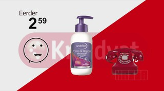 Prijspakker: Andrélon Care & Repair Crème