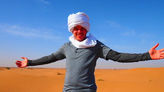 Staying Alive - Filemon Wesselink - De Sahara In Marokko