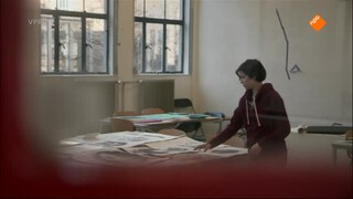 Beeldend kunstenaar Sterre en Marlene Dumas