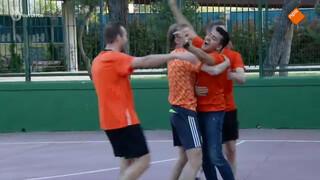 Een potje voetballen: Nederland tegen Spanje