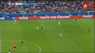 NOS EK Voetbal Portugal - Wales (tweede helft)