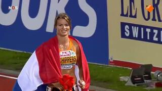EK-goud voor Schippers op 100 meter