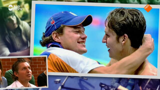 Ware vriendschap: Van den Hoogenband en coach Verhaeren