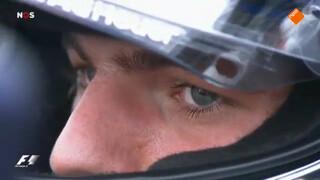 Max Verstappen bij de GP van Duitsland