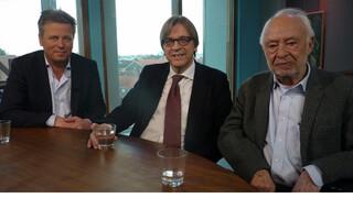 VPRO Boeken Lennart van der Meulen, Henk Hofland en Guy Verhofstadt over Hans van Mierlo