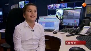 Raphael is Zapp-baas voor een dag 2016