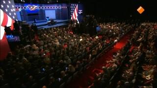 NOS Debatten Clinton - Trump live