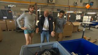 Wat gebeurt er met je oude broek?