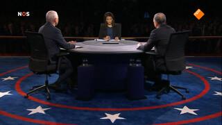 Debat vice-presidentskandidaten
