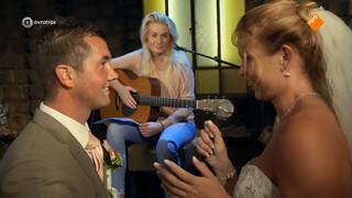 Lied voor newlyweds Gerrit en Lucinda