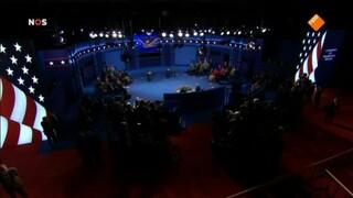 NOS: Debatten Clinton - Trump live