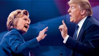 Clinton en Trump geven complimentje