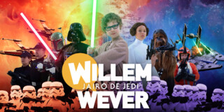 Willem Wever Star Wars Jairo de Jedi - Making Of