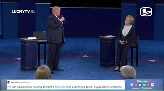 LuckyTV: time of my life, duet Clinton en Trump.