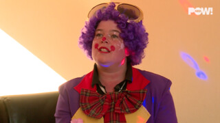 PowNews Clowns niet blij met terrorclowns