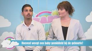 Hoeveel weegt een baby gemiddeld bij de geboorte?