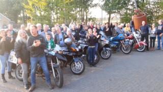 Namens de hele motorclub: Sanne bedankt!