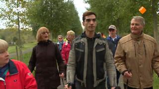 Vluchtelingen vinden Nordic Walken voor schut