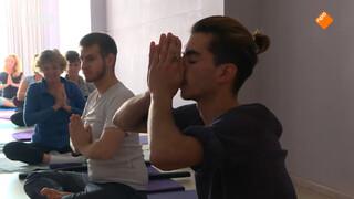 Yoga met een vluchteling
