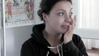 Ezme kan niet stoppen met huilen