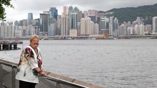 Erica Op Reis - Hongkong