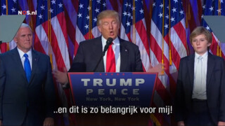 Nos Amerika Kiest - Speech Donald Trump