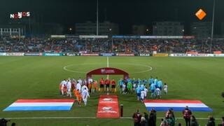 Luxemburg - Nederland (1ste helft)