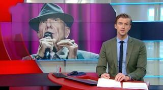 LuckyTV: Leonard Cohen in het Journaal