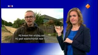 NOS Journaal met gebarentolk 09.00 uur NOS Journaal met gebarentolk