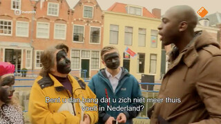 Iets met een discussie over Zwarte Piet
