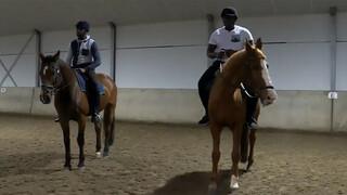 Surinamers op een paard - deel I