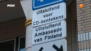De parkeermaffia van de ambassades