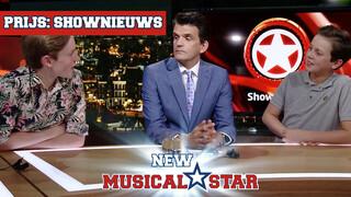 Prijs: Backstage bij Shownieuws | New Musical Star