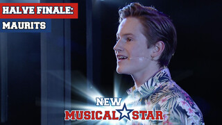 Maurits - Mensenkind (Tarzan) | New Musical Star