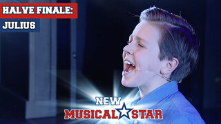 Julius - Tot het Einde (Hercules) | New Musical Star
