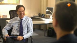 Interview met premier Rutte