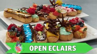 Open eclairs | Masterclass