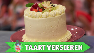 Taart met botercrème | Masterclass
