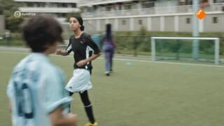 Voetbalmeisjes Selma