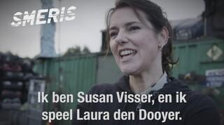 Susan Visser als charmante journaliste