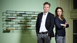 VPRO Boeken Oek de Jong en Elma Drayer
